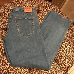 550 Levi's 16L long relaxed bootcut jeans